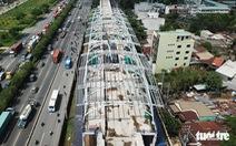 Hoàn thành lắp vòm hai nhà ga metro Bến Thành - Suối Tiên