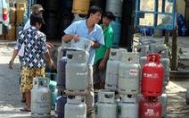 Giá gas tăng thêm 18.000 đồng/bình 12kg