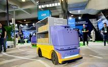 Alibaba tung ra xe giao hàng tự lái có thể nhận diện khuôn mặt