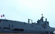 Khám phá tàu sân bay trực thăng hiện đại nhất của Pháp đang ở Việt Nam