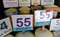 Gạo tăng giá, dân Philippines kêu trời