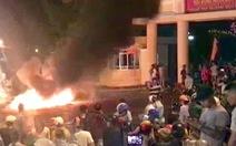 Bắt giữ một số người quá khích, tấn công cảnh sát tại Bình Thuận