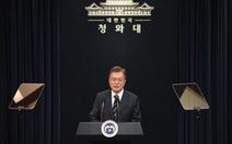 Tổng thống Hàn Quốc điện đàm với ông Trump trước cuộc gặp Mỹ - Triều