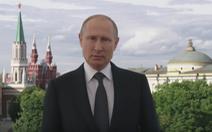 Video Tổng thống Putin gửi lời chào đến người hâm mộ bóng đá