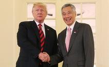 Tổng thống Donald Trump ăn trưa cùng Thủ tướng Lý Hiển Long