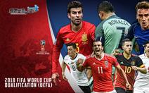 """Những """"ông lớn"""" phải ngồi ở nhà xem World Cup 2018"""