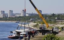 Tàu đâm sà lan trên sông Volga, 11 người thiệt mạng