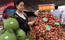 Vải thiều Lục Ngạn 'xịn' về thủ đô, giá 29.000 đồng/kg