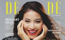 Hoa hậu Phạm Hương rực rỡ trên bìa tạp chí Dé Modé