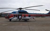 Điều trực thăng ra Trường Sa cấp cứu ngư dân