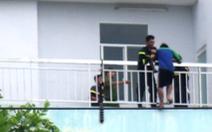 Giải cứu thanh niên đòi nhảy lầu tự tử tại Bệnh viện Trưng Vương
