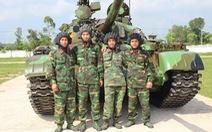 Lính xe tăng ở tây Nghệ An