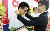 Nam sinh giành 'cú đúp' huy chương vàng kỳ thi Olympic TP.HCM