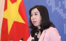 Bộ Ngoại giao: 'Xây dựng Luật An ninh mạng là hết sức cần thiết'