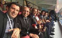 Các nhà cựu vô địch tề tựu tại lễ khai mạc World Cup