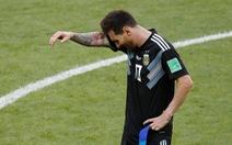 Messi sút hỏng phạt đền, Argentina bị Iceland cầm hòa