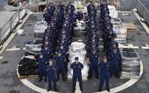 Mỹ tịch thu 5,44 tấn cocaine khi tuần tra Thái Bình Dương