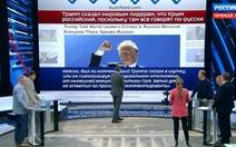 Truyền thông Nga tung hô ông Trump sau phát biểu công nhận Crimea
