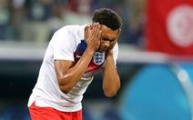 Tuyển Anh vừa thi đấu, vừa xịt chống muỗi trên sân World Cup