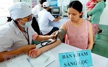 Tiêm bổ sung vắcxin cho trẻ em tại 6 tỉnh nhiều nguy cơ mắc sởi
