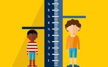 Vì sao trẻ chậm tăng trưởng chiều cao?