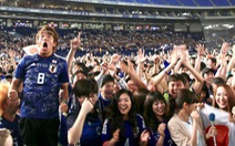 Nhật báo động vì quá nhiều người xem World Cup đi tiểu cùng lúc