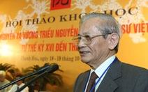 Chia tay giáo sư Phan Huy Lê - người thầy của nền sử Việt
