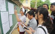 Hàng ngàn điểm liệt môn lịch sử, tiếng Anh thi THPT quốc gia