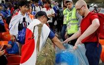 World Cup 2018: Fan Nhật và Senegal chung tay dọn rác sau trận đấu
