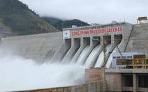 Thủy điện Lai Châu xả lũ từ 13h chiều 25-6