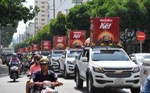 """Bí mật đoàn xe chở """"thần tình yêu"""" ở Sài Gòn"""