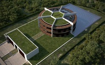 Ngôi nhà đậm chất sân cỏ của Messi
