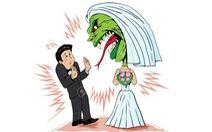 Hôn nhân: chồng thì ngậm đắng, vợ thì phun cay