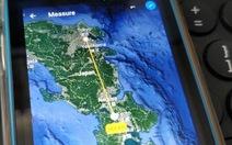 Google Earth giúp người dùng đo khoảng cách và diện tích