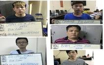 Sáu người Đài Loan móc nối người Việt lừa đảo hàng chục tỉ đồng