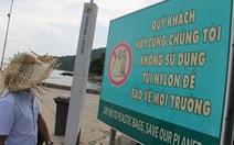 Dân Cù Lao Chàm không còn muốn dùng túi nilông nữa