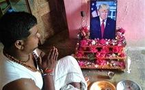 Tổng thống Trump được thờ như thánh sống tại Ấn Độ