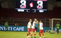 HLV Miura lập kỷ lục 11 trận không thắng ở V-League 2018