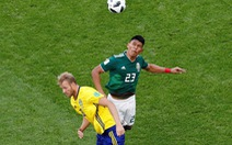 Mexico - Thụy Điển 0-3: Nắm tay nhau tiễn Đức khỏi World Cup 2018