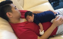 Ngày gia đình VN: những bố bỉm sữa nghỉ việc thay vợ chăm con