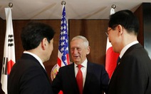 Bộ trưởng Quốc phòng Mỹ: chỉ giảm trừng phạt Triều Tiên khi chắc chắn bỏ hạt nhân