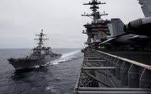 Mỹ tính tăng tàu chiến thách thức Trung Quốc trên Biển Đông