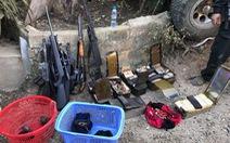 Thu giữ gần 40 khẩu súng, 6.000 viên đạn tại nhà trùm ma túy