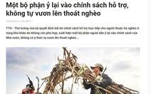 'Bệnh ỷ lại' của người Việt, 91 năm qua vẫn còn nguyên
