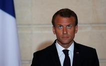 Tổng thống Pháp: đừng tò mò về cuộc gọi của tôi với ông Trump
