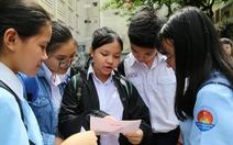 Công bố đáp án kỳ thi tuyển sinh lớp 10 tại TP.HCM