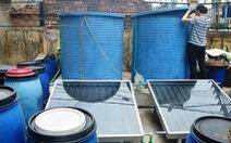Làm nước mắm bằng năng lượng mặt trời
