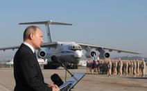 Tổng thống Putin: Syria cho quân đội Nga kinh nghiệm chiến đấu 'hiếm có'