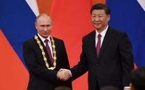 Ông Tập trao huân chương hữu nghị đầu tiên cho 'người bạn tốt nhất' Putin