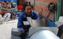 'Kỹ sư miệt vườn' chế tạo máy rửa sapôchê